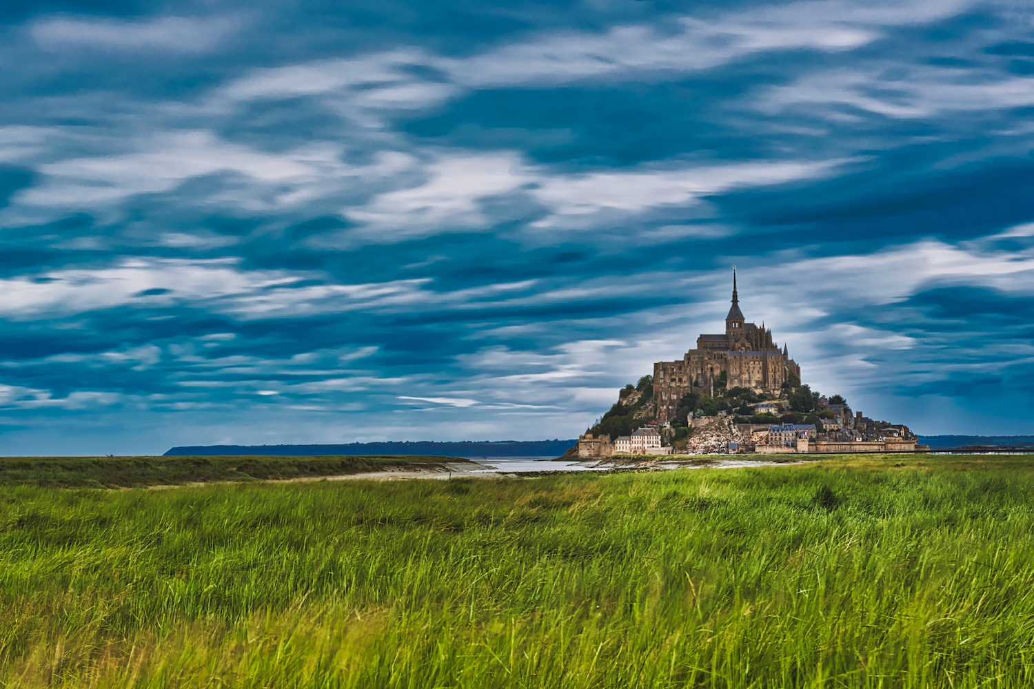 View on Mont St. Michel