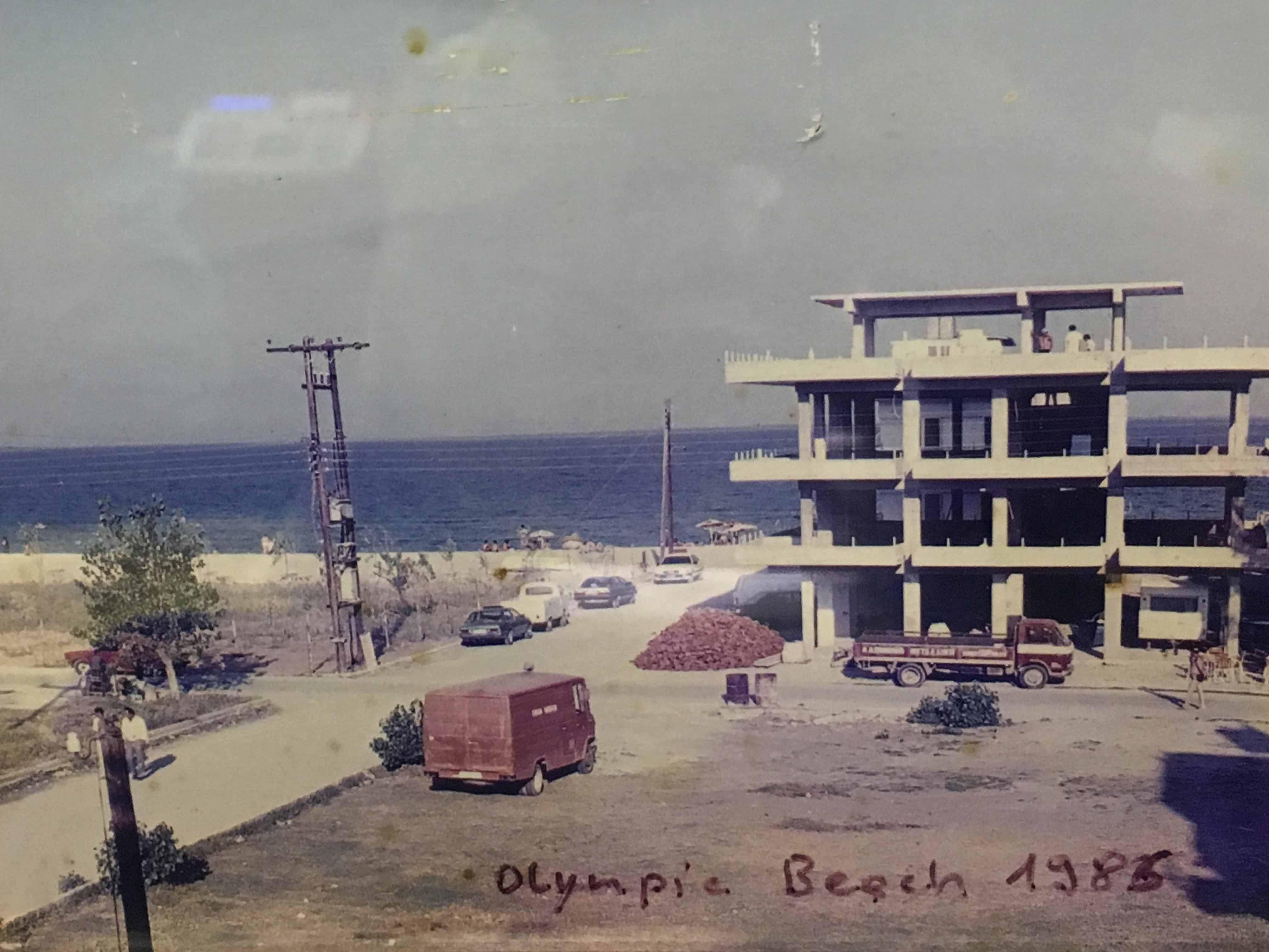 olympic beach 1986