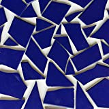 Fliesenbruch frostfest Verschiedene Mixe Mosaik Bruchfliesen (1.0, dunkel blau K555)