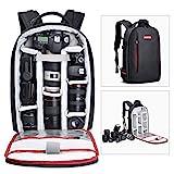Beschoi DSLR Kamera-Rucksack, wasserdichte Kameratasche für Sony Canon Nikon Olympus SLR/DSLR Kamera, Objektiv und Zubehör,...