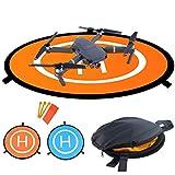 LVHERO Drohne Landeplatz, Wasserdichte Universal D 110 cm Tragbare Faltbare Landing Pads für RC Drones Hubschrauber, PVB-Drohnen,...