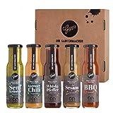 Gepp's Feinkost Bestseller Saucen Set I Probierset mit Grill- und BBQ Saucen, hergestellt nach eigener Rezeptur I Passend zu...
