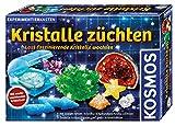 KOSMOS 643522 Kristalle züchten. Lass faszinierende Kristalle wachsen. Komplett-Set, nachtleuchtende, glitzernde Kristalle,...