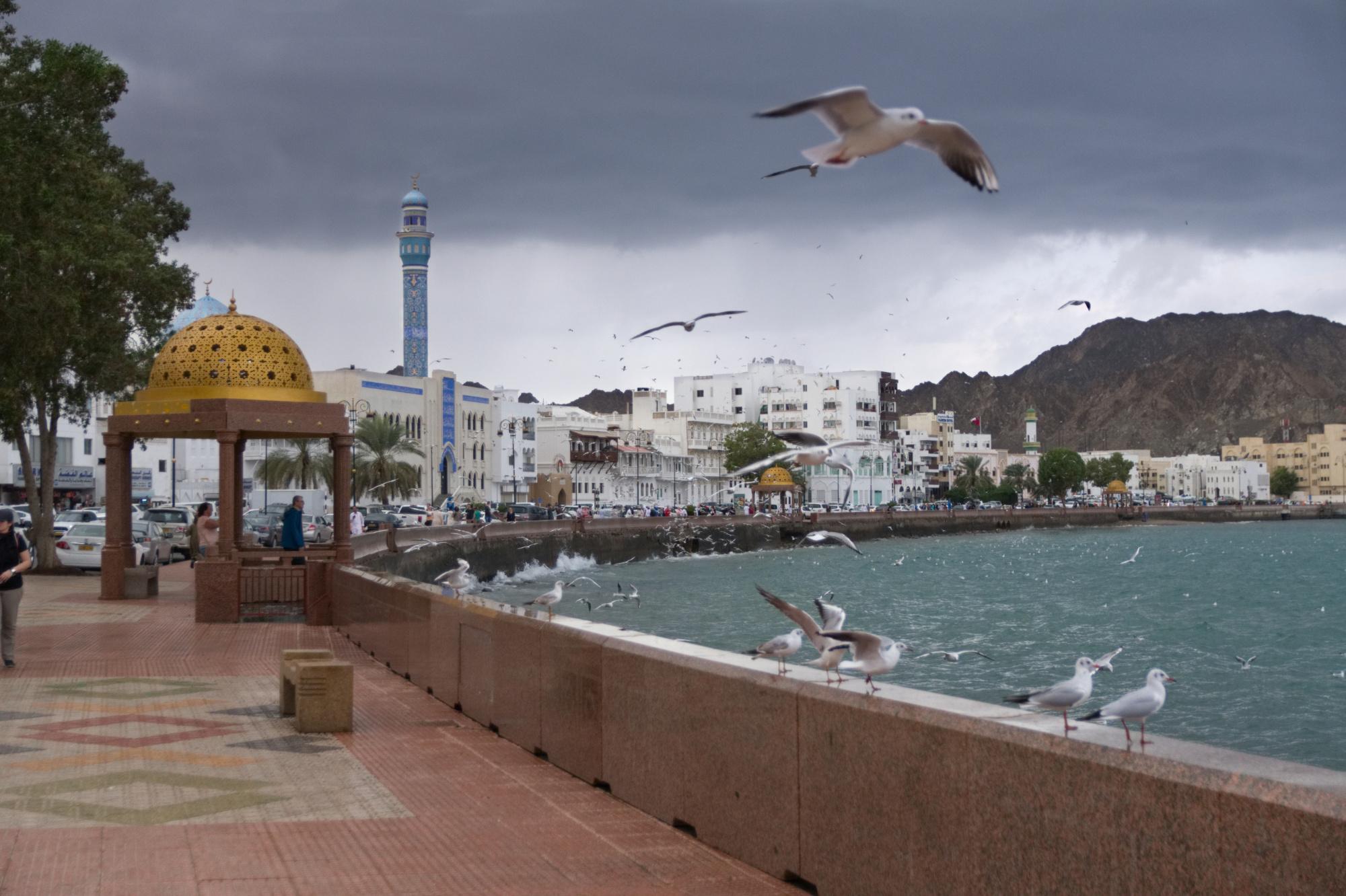 Promenade von Muscat (Mascat) im Oman