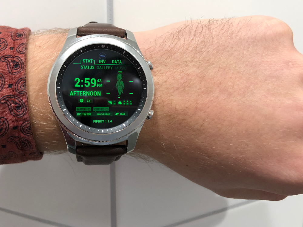 Pipboy smartwatch