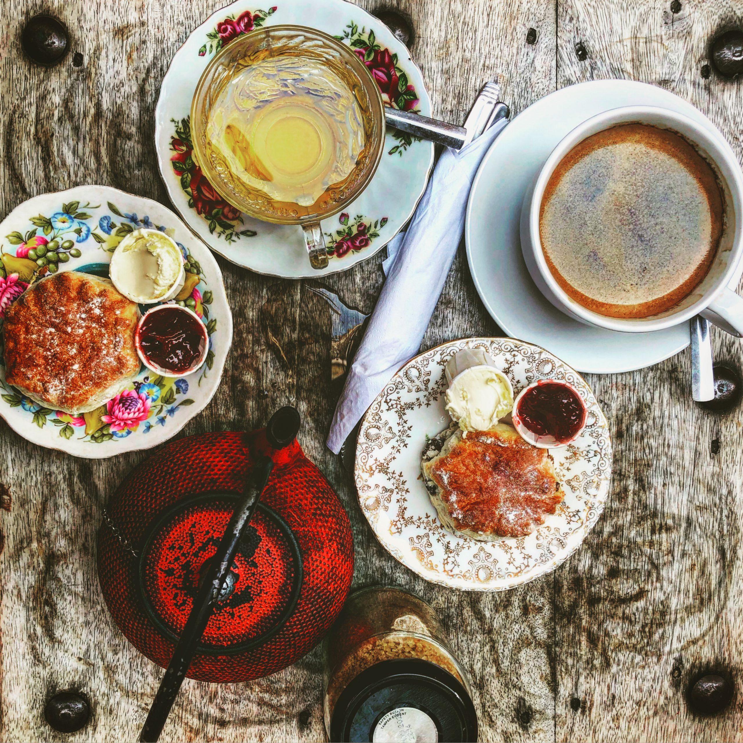 Teatime im Reddoor Café in Greenwich