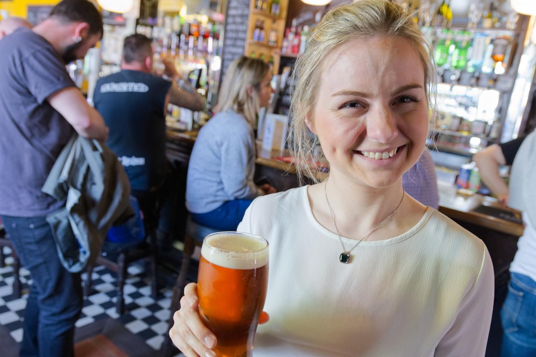 """Nach dem Besuch des Camden Markets ein Bier im """"Elephants Head"""""""