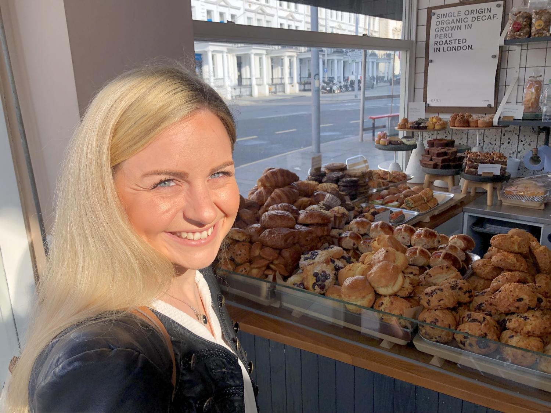 """Reichlich Auswahl für unser Frühstück in """"Gail's Bakery"""" in South Kensington"""