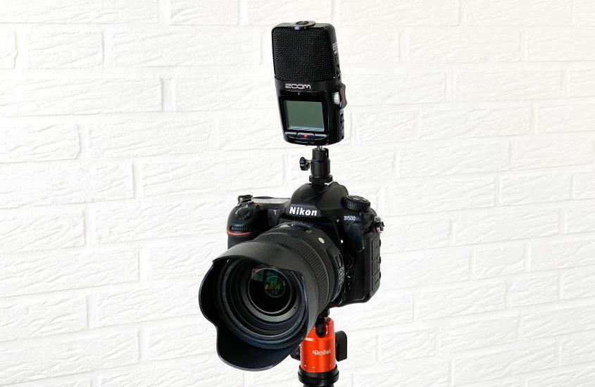 Zoom H2n als externes Mikrofon an der DSLR