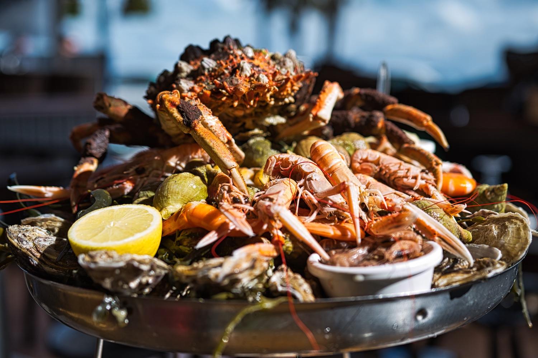 Die beste Meeresfrüchteplatte des Urlaubs in Cancale