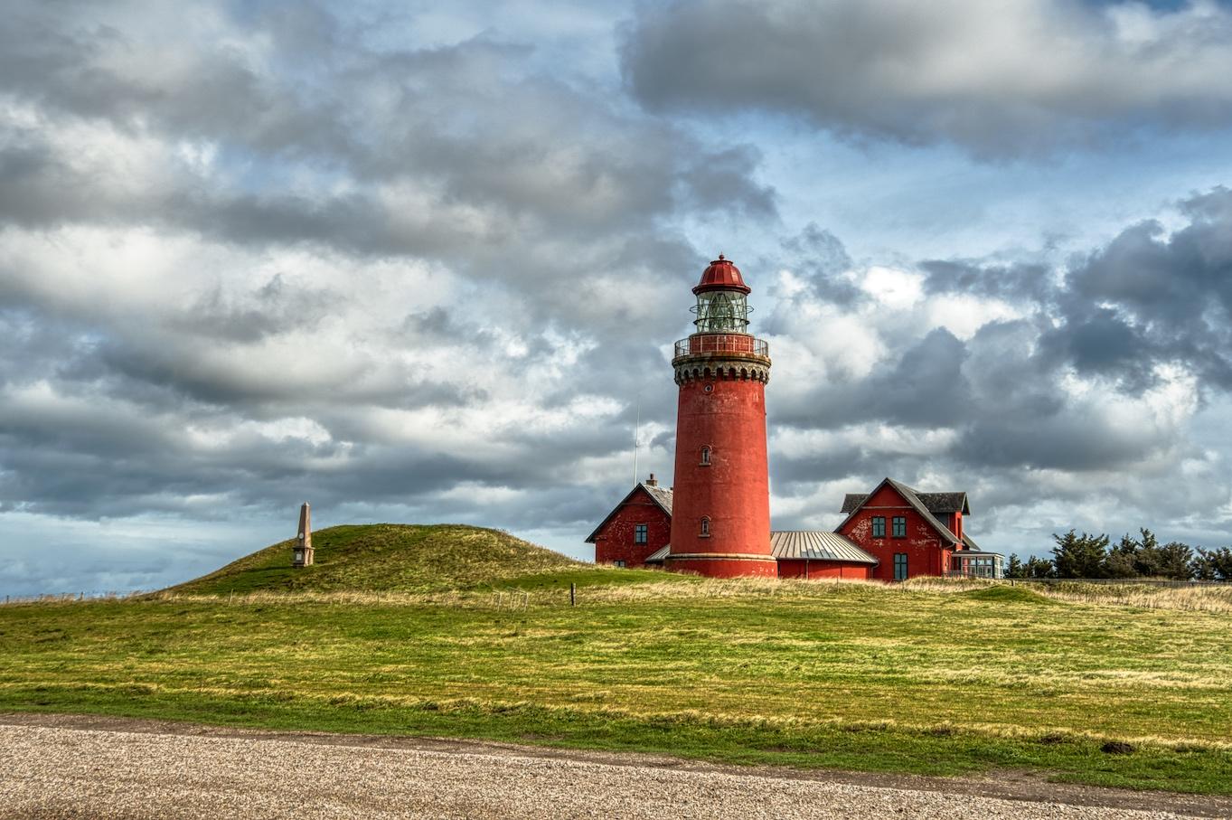 Leuchtturm von Bovbjerg bei Lemvig