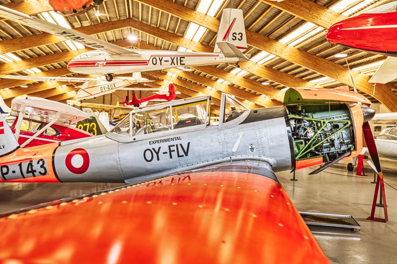 Flugzeugmuseum in Stauning