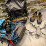 Backpacks, Camera and Videodrone