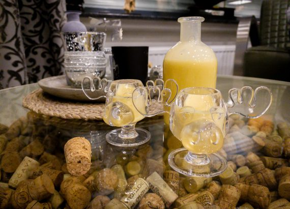 Eggnog in Moose Glas