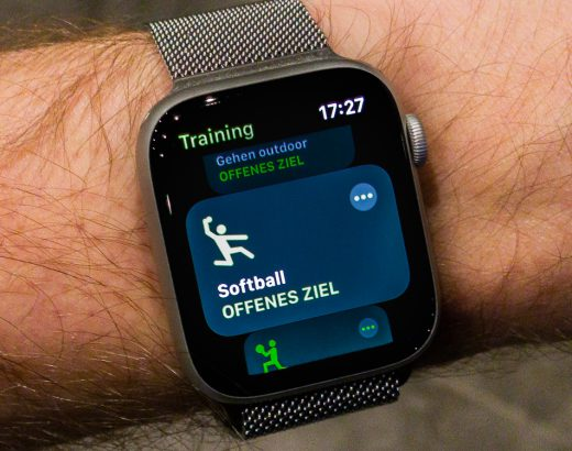 Apple Watch with Softball Training