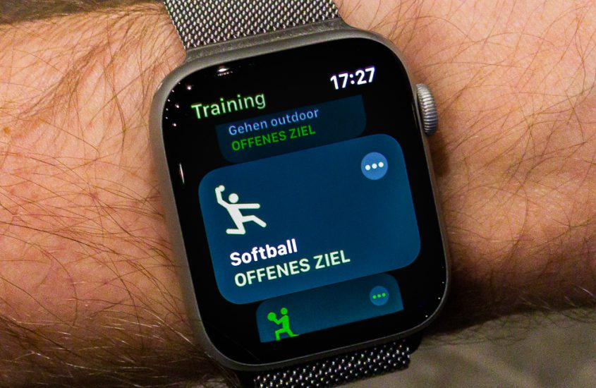 Apple Watch Training for Paintball games