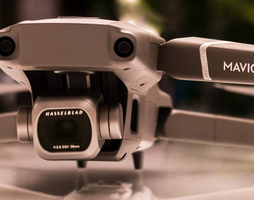 Gimbal and camera of Mavic 2 Pro