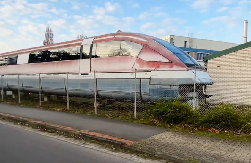 The Transrapid technology is rotting away in Emsland