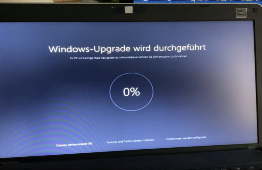 Nach Windows 10 Upgrade: Schwarzer Desktop, Startmenü öffnet nicht, Programme  starten nicht