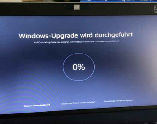 Windows 10 Installation process