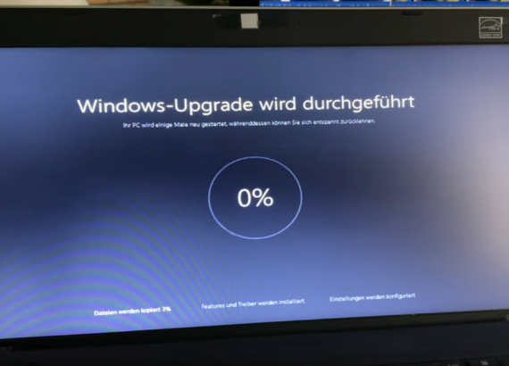 Windows 10 Installation process