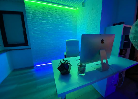 Interior lighting with Philips Hue and Osram Lightify