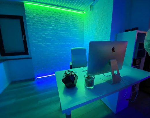 Innenbeleuchtung mit Philips Hue und Osram Lightify