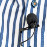 An affordable clip-on microphone for good video sound on the DSLR