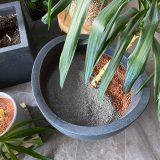 Pflanzgranulat – Gibt es das auch in schön? Die graue Alternative