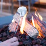 Feuertisch auf der Terrasse: Kein Rauch, kein Gestank, kein Dreck
