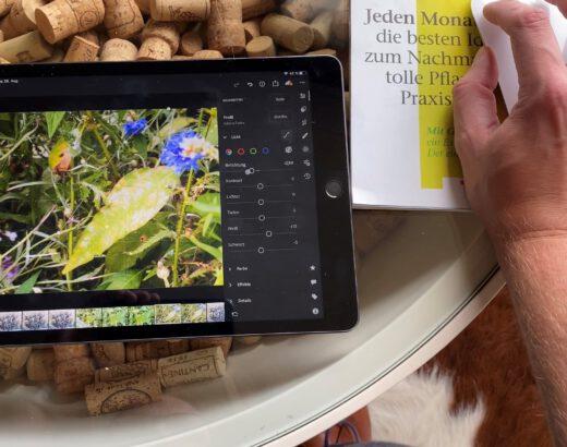 Lightroom auf dem iPad mit der Maus bedienen