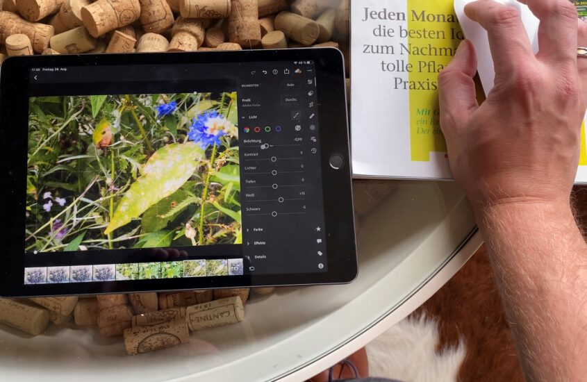 Hands-on: Using Lightroom on the iPad with a mouse – is it fun?