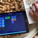 Remote Desktop Sitzung vom iPad mit der Maus bedienen