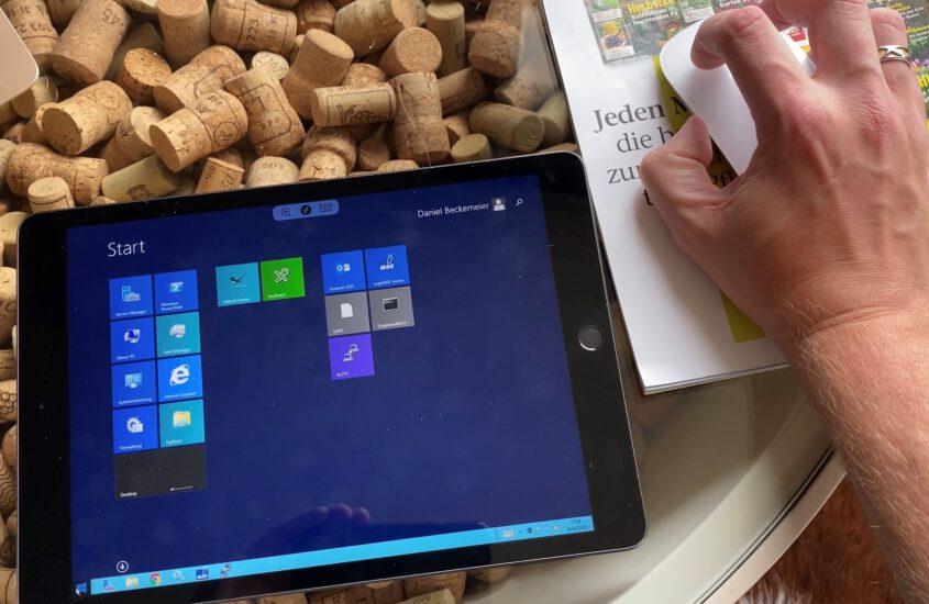 Praxistest: RDP Sitzung vom iPad mit Maus steuern