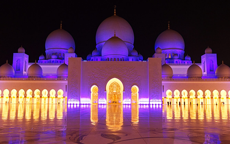 Sheikh Zayed Mosque – Sigma 17-50mm – 17mm – F8 – 0,4 Sec – ISO320 – Nikon D500