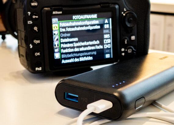Kompatible USB-C Netzteile und Powerbanks für die Nikon Z6 II und Z7 II