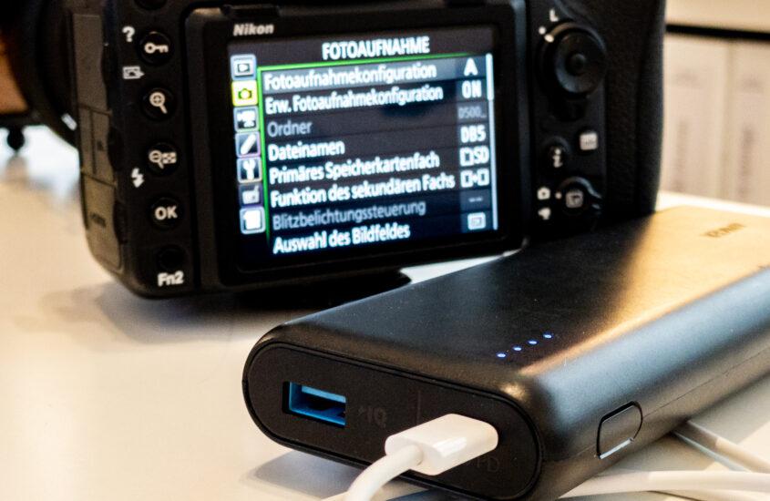 Nikon Z6 II und Z7 II mit Kompatiblen USB-C Powerbanks und Netzteilen laden