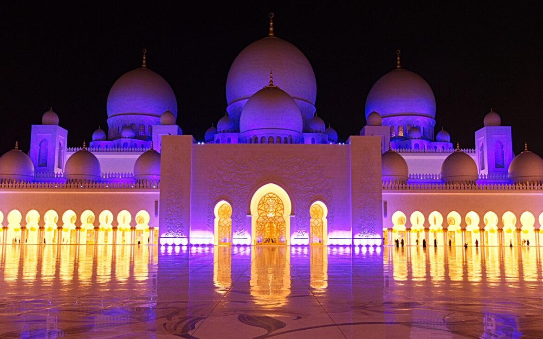 Scheich-Zayid-Moschee – Sigma 17-50mm – 17mm – F8 – 0,4 Sec – ISO320 – Nikon D500