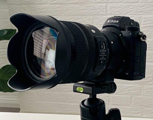 Sigma 24-70 2,8-Objektiv mit FTZ-Adapter an Nikon Z6 II
