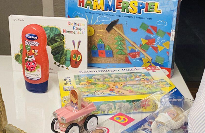 Weihnachten im Schuhkarton: Ideen für den Einkauf für Kinder von 0 bis 10 Jahren