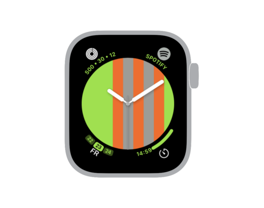 221 Watchface für Apple Watch