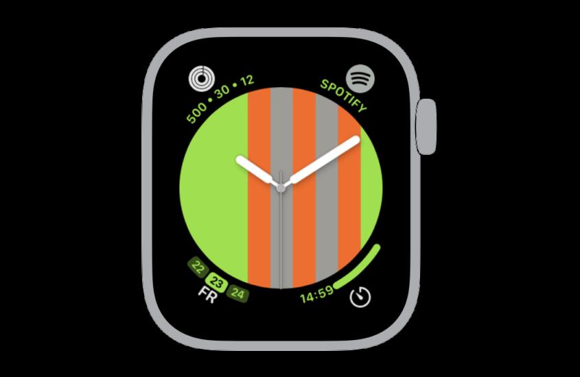 221 Watchface for Apple Watch