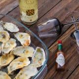 "Oysters au gratin ""Florida Keys"""