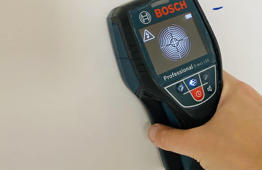 A cable finder that really works: Bosch D-Tect 120