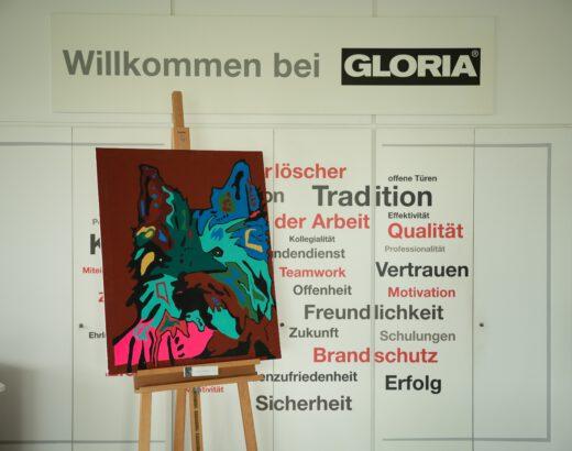 Wanderausstellung der Diakonie Stiftung Salem in den Gebäuden der Gloria GmbH in Wadersloh